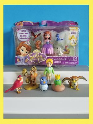 Disney Princess Sofia the First Royal lot of figures. for Sale in Sanford, FL