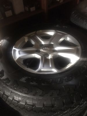 Tires. Jeep 245 75 17 Duelers A/T new $550 for Sale in Carlsbad, CA