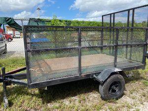 6x12 utility trailer excellent condition for Sale in Miami, FL