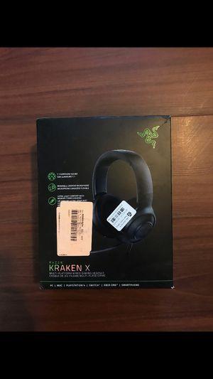 Razer Kraken X Headset New for Sale in Los Angeles, CA