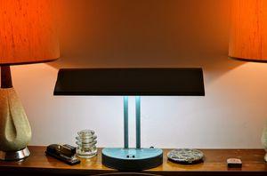 Art Deco Industrial Metal Desk Lamp for Sale in West Hollywood, CA