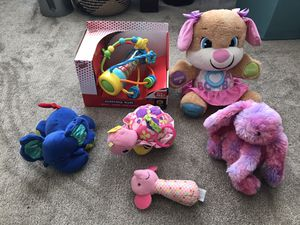 Baby girl activity toys etc for Sale in Oakland, CA