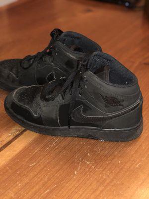 Jordan 1 Black on Black size 4Y for Sale in Vancouver, WA