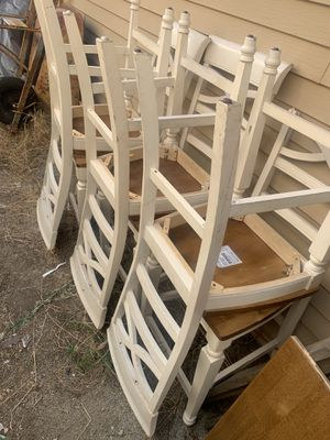 High Dining Room Chairs (6) for Sale in El Cajon, CA