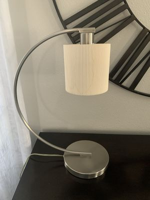 Brush nickel table lamp !!! for Sale in Vancouver, WA