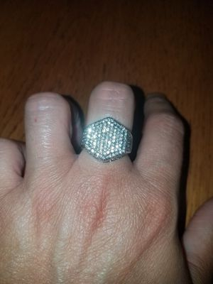 Sterling silver white sapphire ring available sizes 8 and 9 for Sale in Dundalk, MD