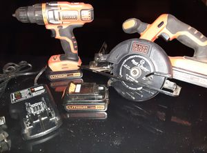Black and Decker 20 volt set for Sale in LAKE TAPWINGO, MO