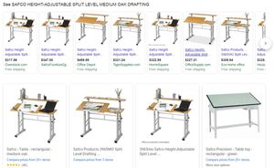 Safco Drafting Table Oak NEW for Sale in Fresno, CA