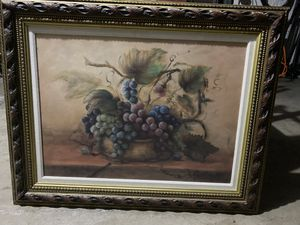 Kirkland Classic Painting with Decorative Wood Frame for Sale in Arlington, TX
