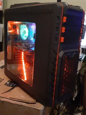 Ryzen 2700x Custom Built Gaming PC with RX 570 8 gig Video Card. 6 months old, lightly used. for Sale in Grand Prairie, TX