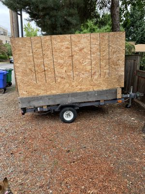 4 * 8 ft. Flatbed Utility Trailer (Needs to go ASAP) for Sale in Portland, OR