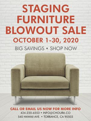 Staging Furniture Blowout Sale for Sale in Torrance, CA