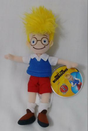 Disney Store Exclusive Meet The Robinsons Lewis Plush Bean Bag Doll for Sale in Homestead, FL