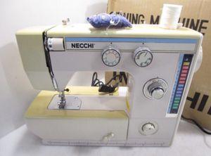 Necchi Dial a Stitch Sewing Machine with Manual & Accessories in Original Box for Sale in Tacoma, WA