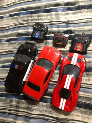 RC cars all three two speed settings and turning adjustments for Sale in Pine Grove, PA