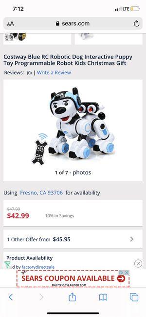 Robotic dog for Sale in Fresno, CA