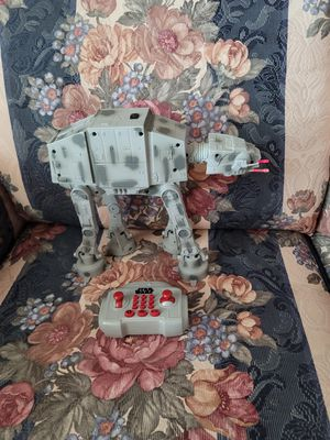 Star Wars The Force Awakens U-Command AT-AT R/C Robot Control one of the Galactic Empire's most formidable vehicles with the Star Wars AT-AT U-COMMAN for Sale in Fontana, CA
