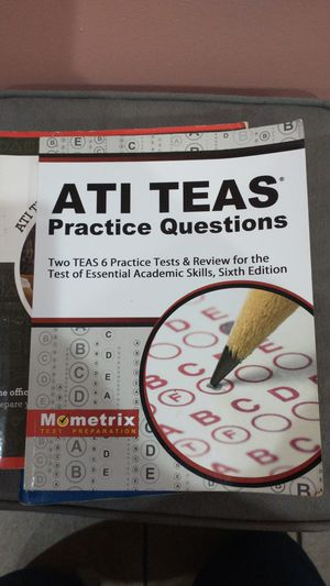 ATI teas practice questions book 6th edition for Sale in Chicago, IL