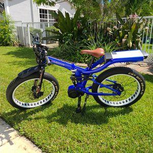 E-bike MOAR RAPT 2 Cobalt for Sale in Fort Lauderdale, FL