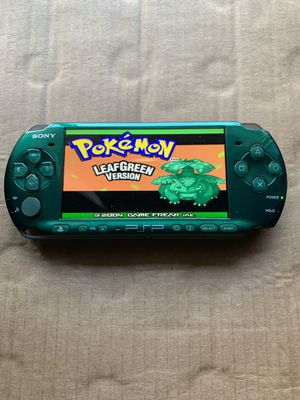 PSP Slim Green With 5,000+ Games And Movies 🎮🎮 for Sale in Santa Ana, CA