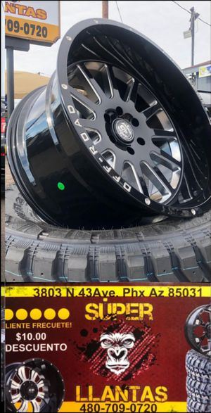 22x12 RINES Y LLANTAS for Sale in Phoenix, AZ