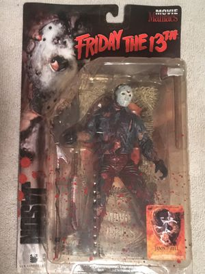 McFarlane Jason Voorhees Movie Maniacs Figure for Sale in Redford Charter Township, MI