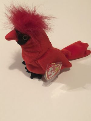 Mac the Cardinal RARE Ty Beanie Baby (Tag Errors) for Sale in Alpharetta, GA