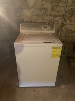GE electric washing machine never been used. BRAND NEW for Sale in Brooklyn, NY