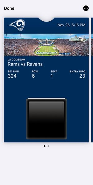 Baltimore Ravens at LA Rams tickets for Sale in Mesa, AZ