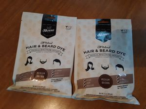 2 pack dark brown henna, new never used for Sale in Lyndhurst, NJ