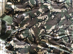 Aape button down polo shirt Sz M bape Nike for Sale in Las Vegas, NV