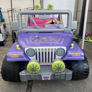 Power wheels Jeep Wrangler 12v kids electric battery for Sale in Fremont, CA