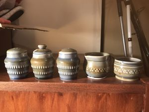 Brand new vintage Irish wade porcelain salt and pepper set for Sale in Alexandria, VA