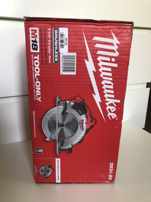 "Milwaukee New 71/4"" Circular Saw M18: Brushless. Nuevo for Sale in Los Angeles, CA"