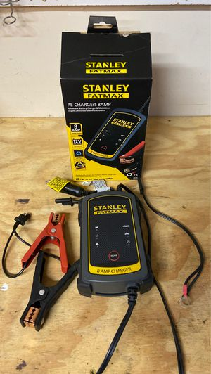 Stanley Fatmax Battery Charger and Maintainer for Sale in Pasadena, TX