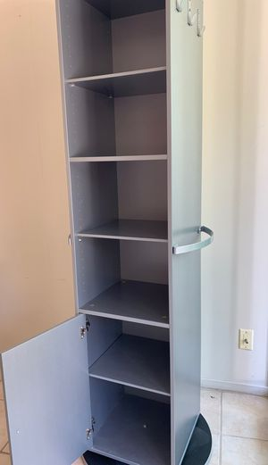Rotating wardrobe with full length mirror for Sale in Sunnyvale, CA