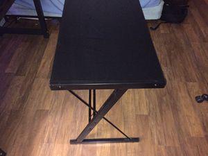Black glass desk for Sale in Wenatchee, WA