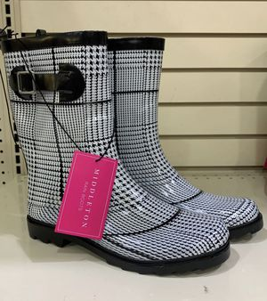 Middleton Rain Boots Ankle Size 8 and 9 for Sale in Mesquite, TX