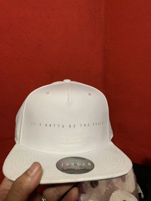 299e2f22bdc Jordan white/ blue hat SnapBack for Sale in Chicago, IL