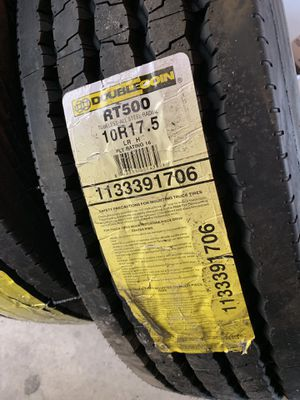 2 Double coin trailer tires for Sale in Chicago, IL