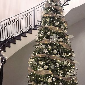 12ft Pre-Lit Micro LED Artificial Christmas Tree for Sale in San Diego, CA