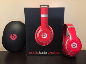 Beats Studio2 Wireless Headphones – Red for Sale in Seattle, WA