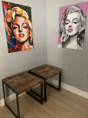Wood end tables/nightstands for Sale in Chino Hills, CA