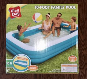 Play Day - 10 foot Family Pool - Brand New! for Sale in Concord, NC