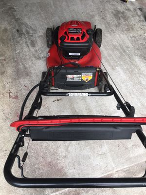 Troy Bilt self propelled lawn mower excellent working condition for Sale in Fairfax, VA
