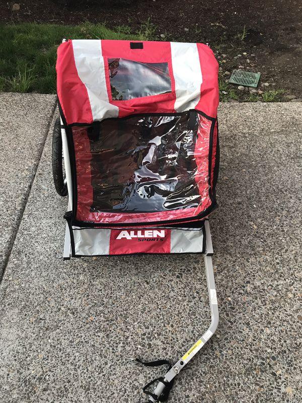 Allen Sports AST202 Steel 2-Child Bike Trailer