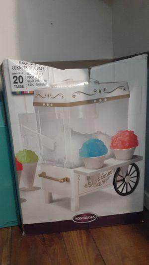 Snow cone maker for Sale in Fontana, CA