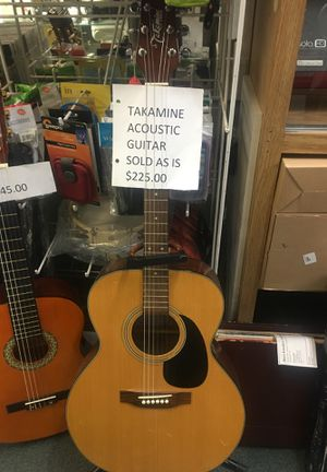 Acoustic guitar for Sale in Newark, NJ
