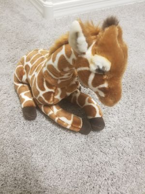 "FAO Schwarz Giraffe Calf Toy Plush 12"", Ultra Soft for Sale in Phoenix, AZ"