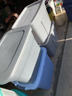 Empty containers 33 gal 23 gal 18 gal containers for Sale in Hayward, CA